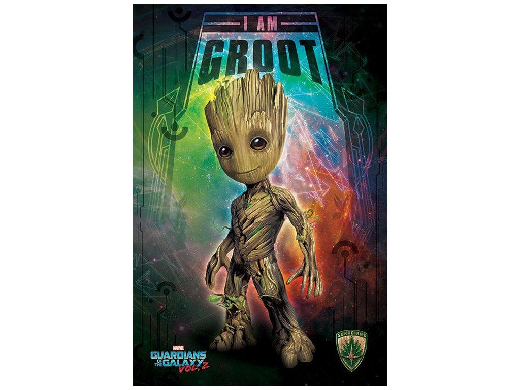 Plakát Guardians of the Galaxy|Strážci Galaxie: I'm Groot (61 x 91,5 cm)