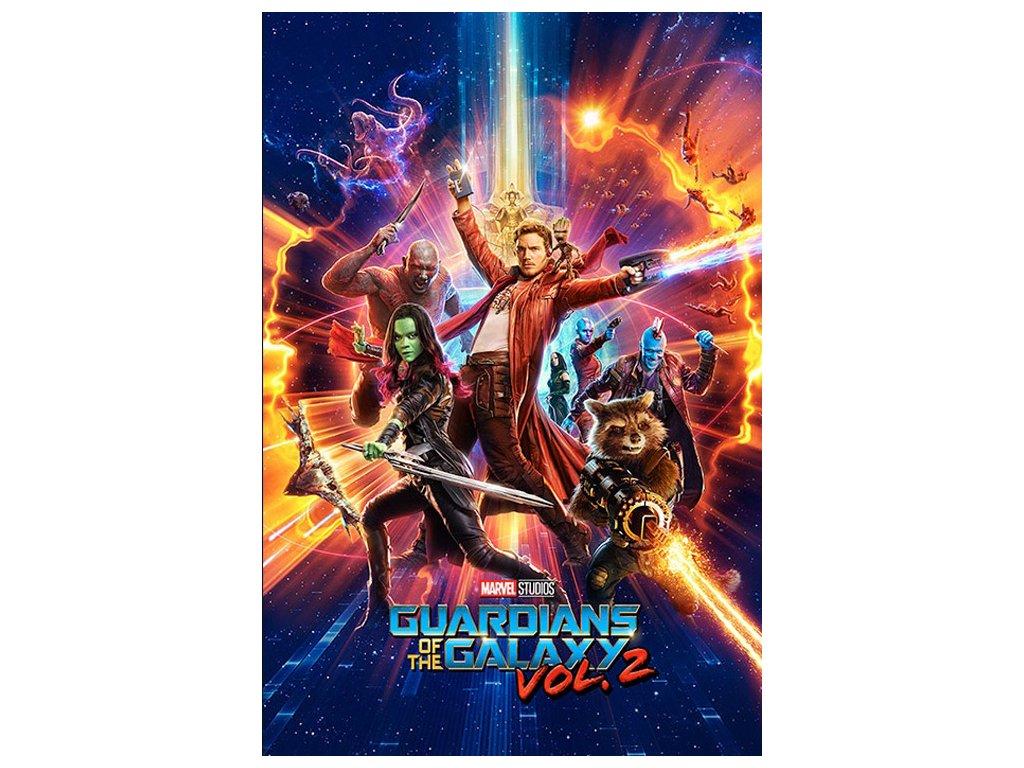 Plakát Marvel|Guardians of the Galaxy 2|Strážci Galaxie 2: One Sheet (61 x 91,5 cm)