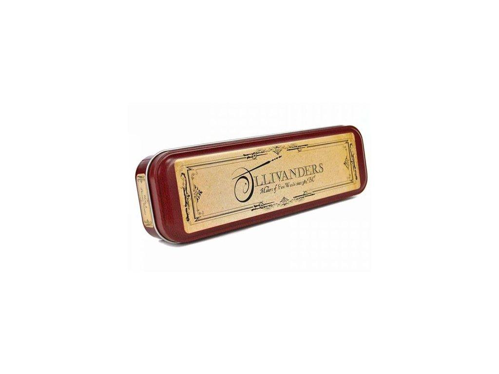 Kovový penál na tužky Harry Potter: Ollivander's (20 x 6 x 3 cm)