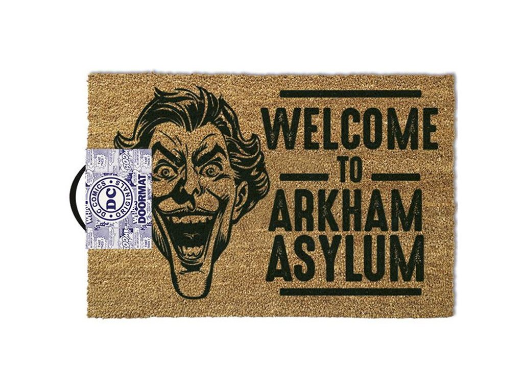 Rohožka DC Comics The Joker: Welcome To Arkaham Asylum (60 x 40 cm)