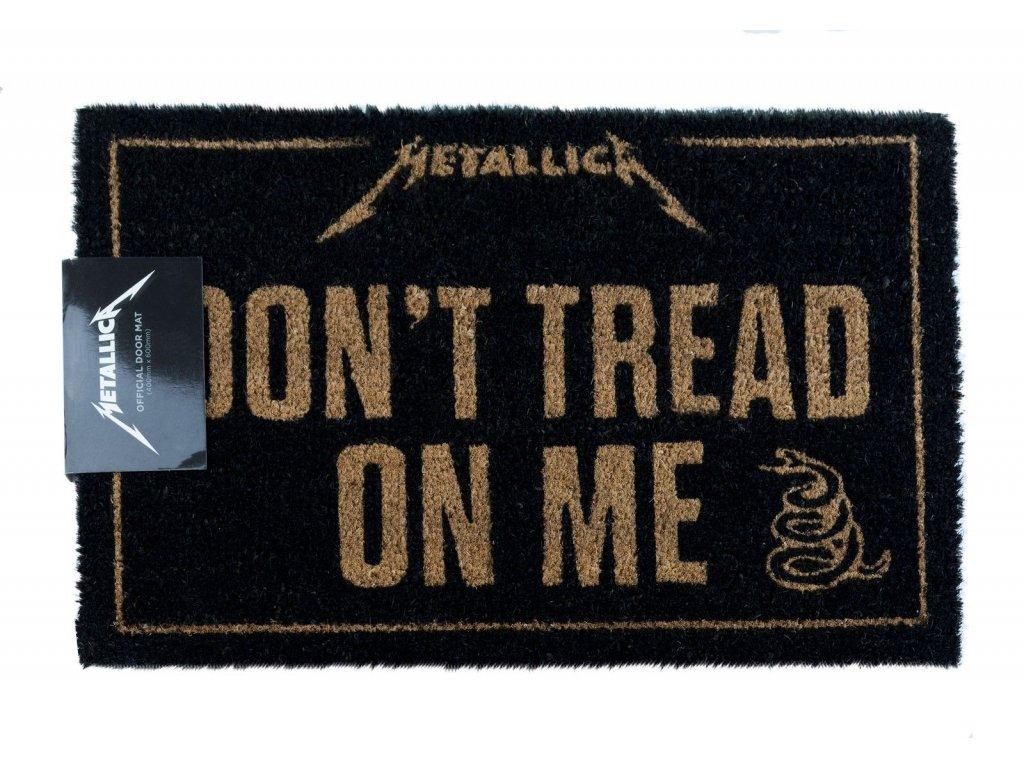 Rohožka Metallica: Don't Tread On Me (60 x 40 cm) černá