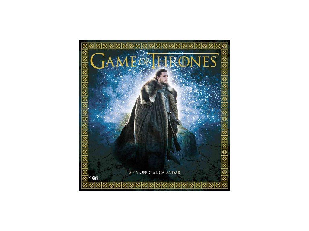 GAME OF THRONES (30,5 x 30,5 cm) SQ  KALENDÁŘ 2019/FILM