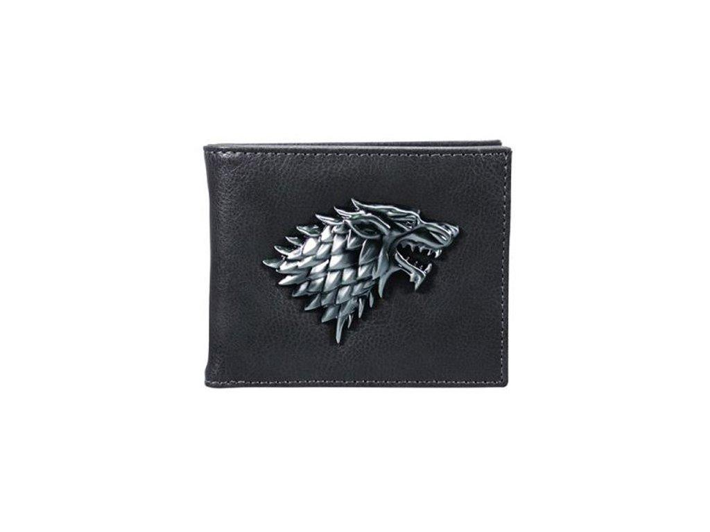 Peněženka Game Of Thrones Hra o trůny: Stark (16,5 x 9,5 cm) polyuretan