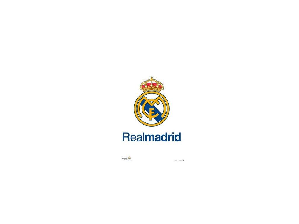 Plakát FC Real Madrid: Znak (61 x 91,5 cm)