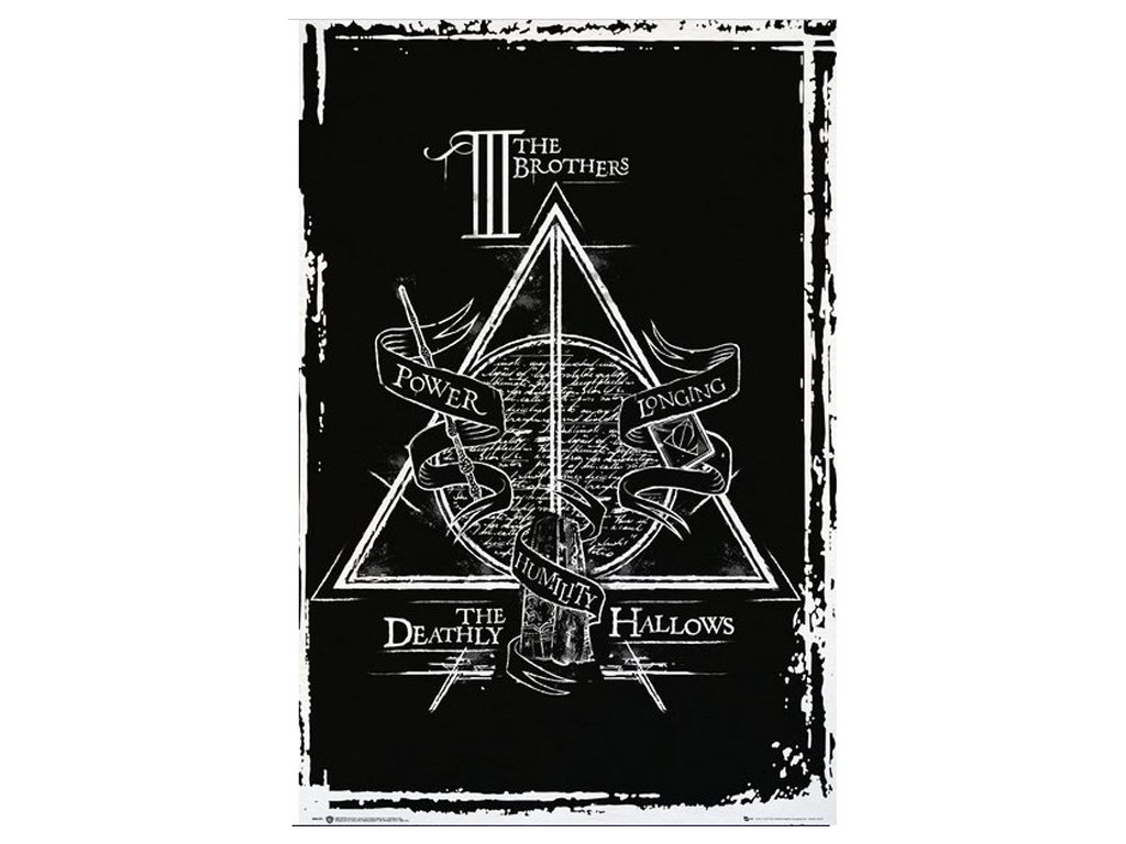Plakát Harry Potter: Deathly Hallows Graphic - Relikvie msrti (61 x 91,5 cm)