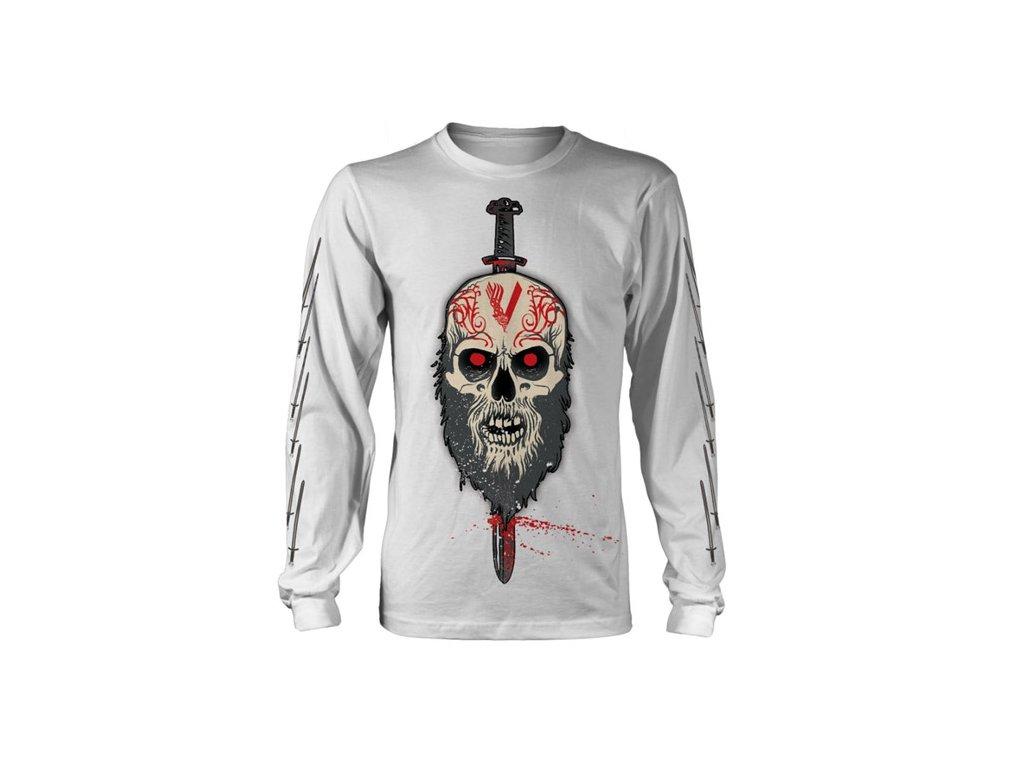 Pánské tričko Vikings: Berserker (S) bílé