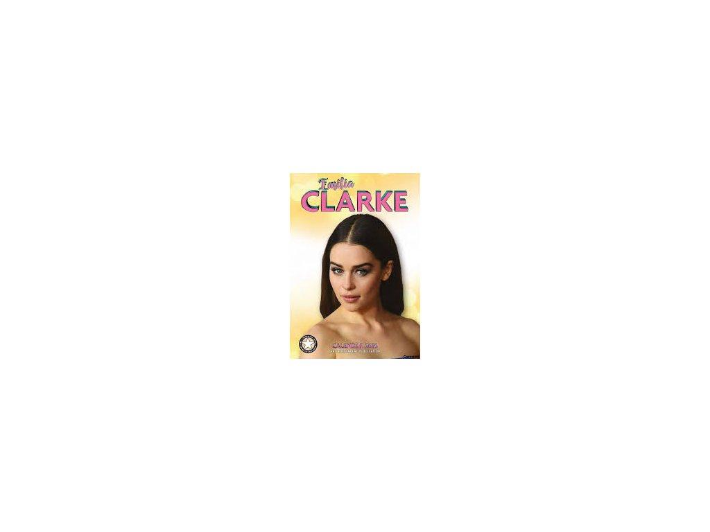 EMILIA CLARKE (29,7 x 42 cm) A3 KALENDÁŘ 2019/FILM