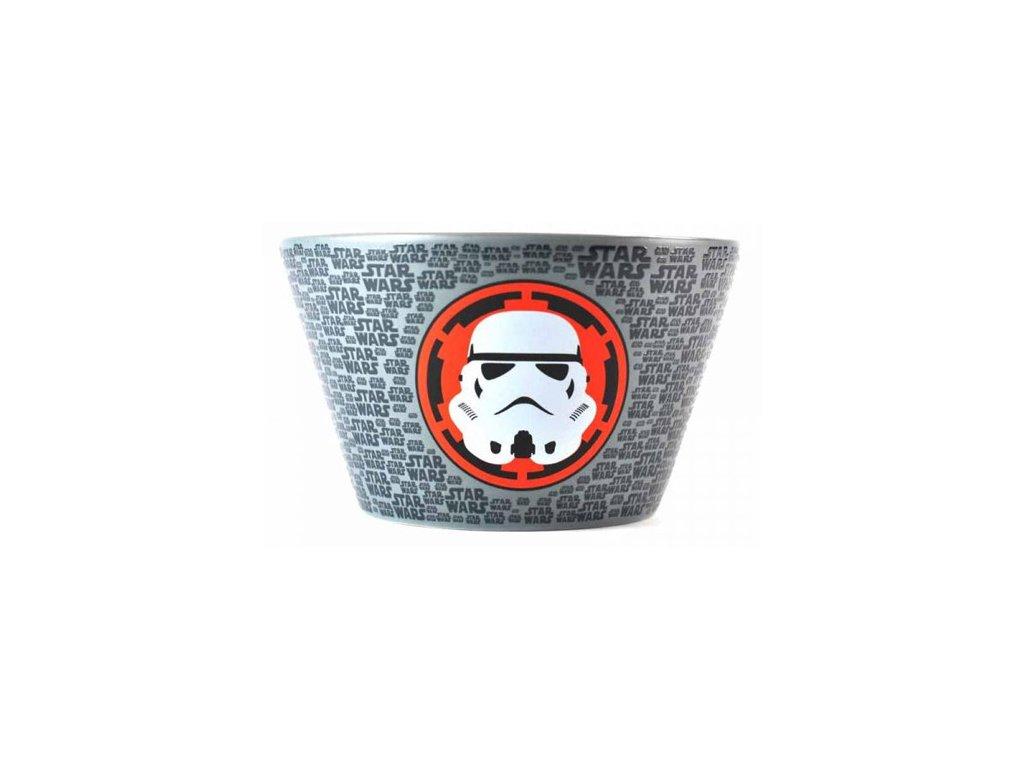 Keramická miska Star Wars|Hvězdné války: Stormtrooper (14 x 9 x 14 cm)