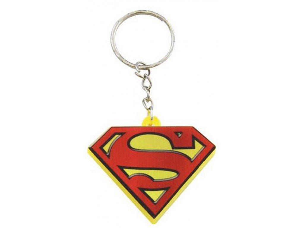 Přívěsek na klíčenka DC Comics|Superman: Led (5 x 4 cm)