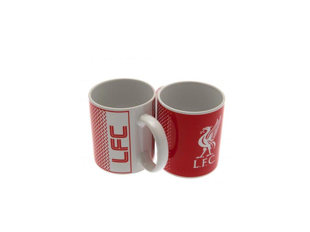 Keramický hrnek FC Liverpool: Fade (objem 320 ml) bílý