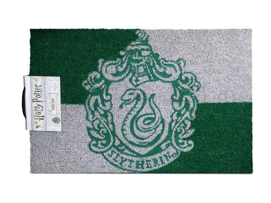 Rohožka Harry Potter: Zmijozel - Slytherin (60 x 40 cm) zeleno-šedá
