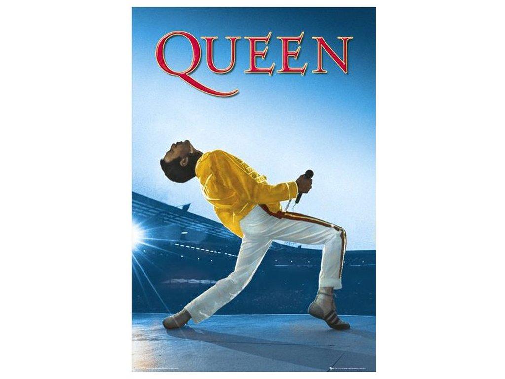 Plakát Queen: Live at Wembley (61 x 91,5 cm)