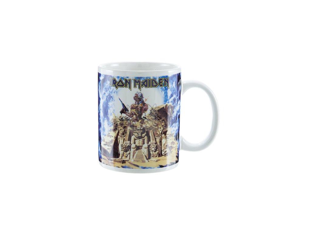Keramický hrnek Iron Maiden: Somewhere Back In Time (320 ml)
