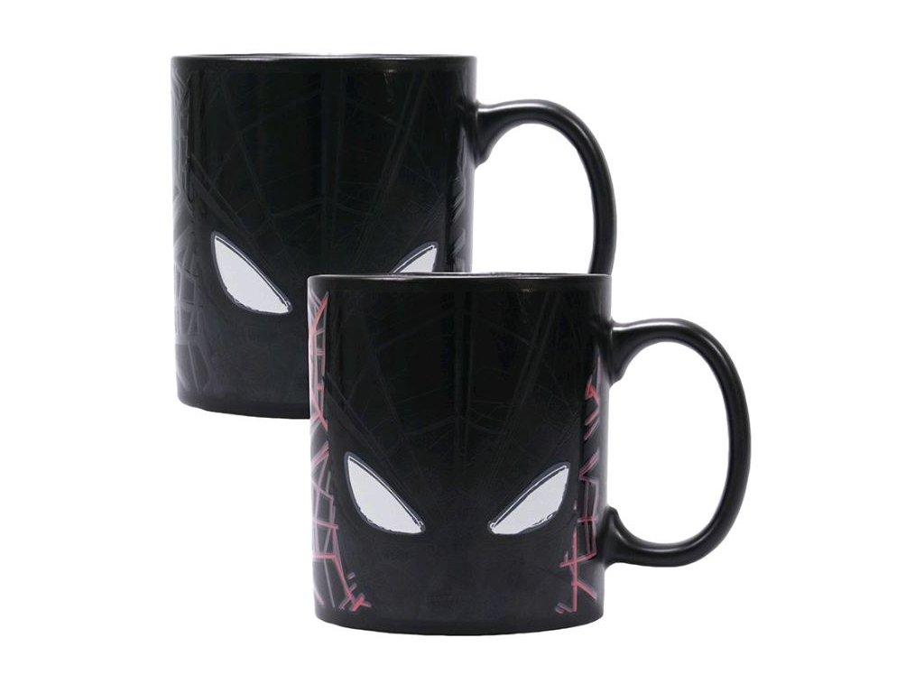 Promeňovací keramický hrnek Marvel|Spiderman: Great Power (objem 400 ml)