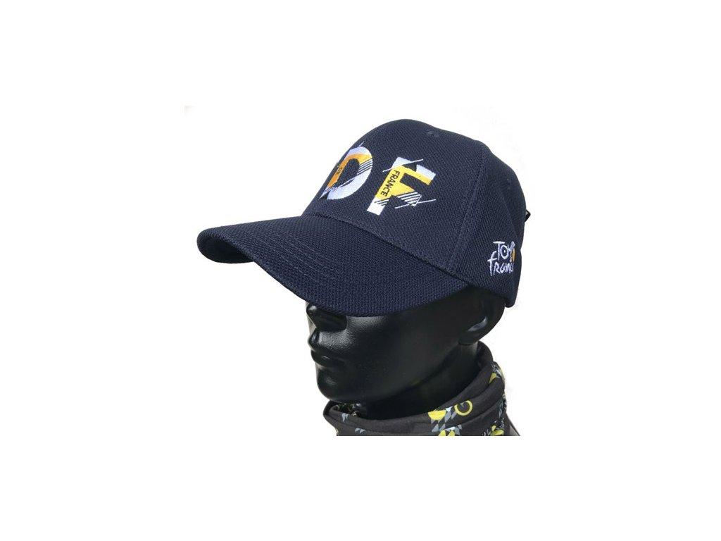 Kšiltovka Tour de France: TDF Chrono (nastavitelná) modrá
