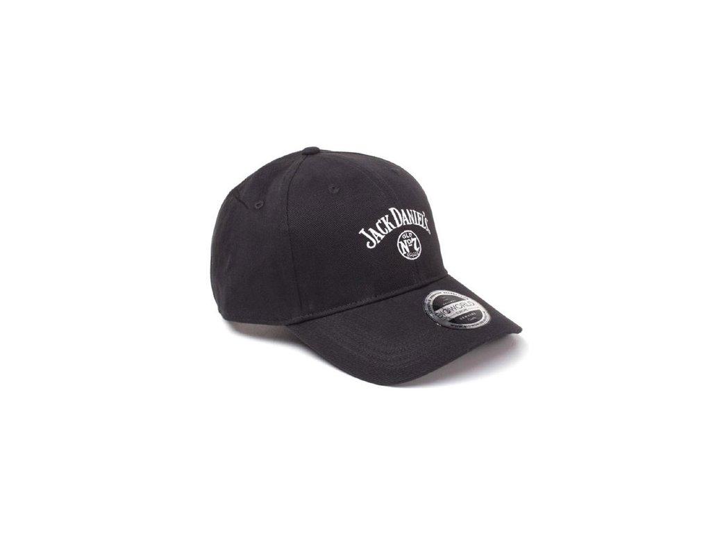 Kšiltovka Jack Daniel's: Logo Dad (nastavitelná) černá