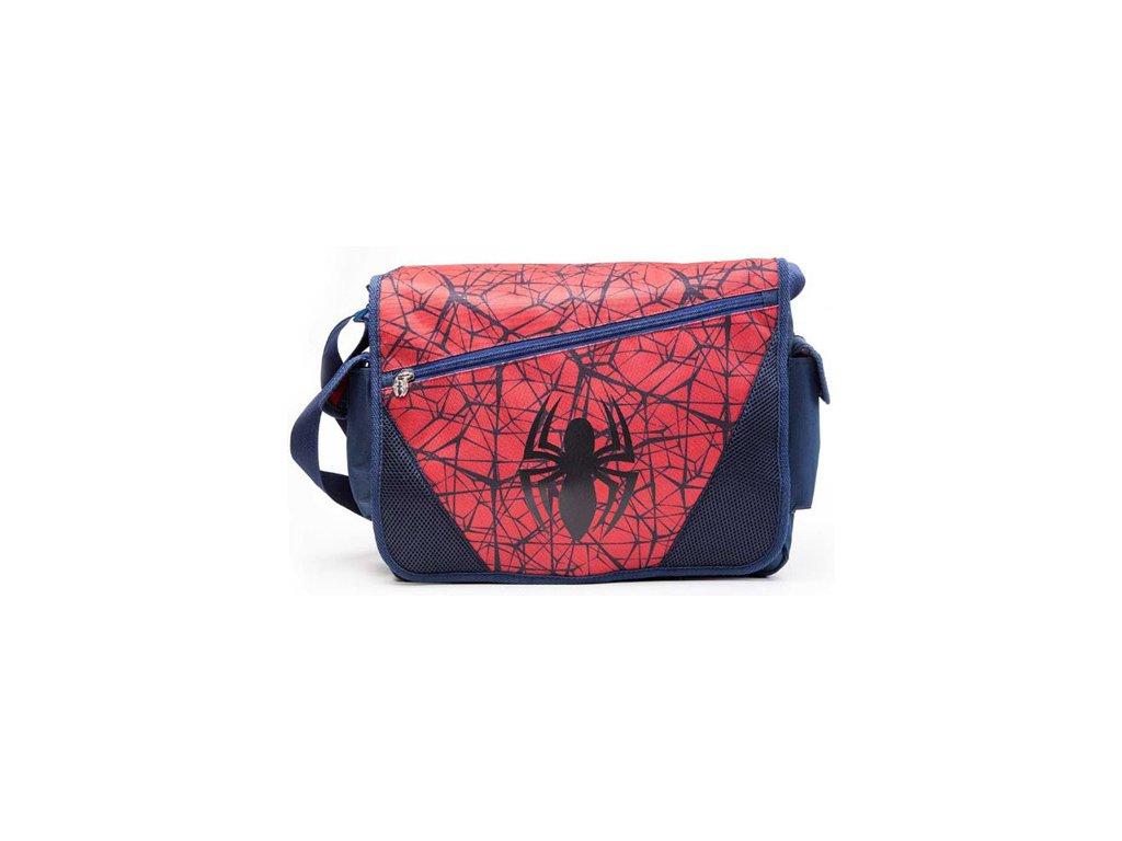 Taška na rameno Marvel|Spiderman: The Ultimate Spiderman (40 x 60 cm) modrá polyester