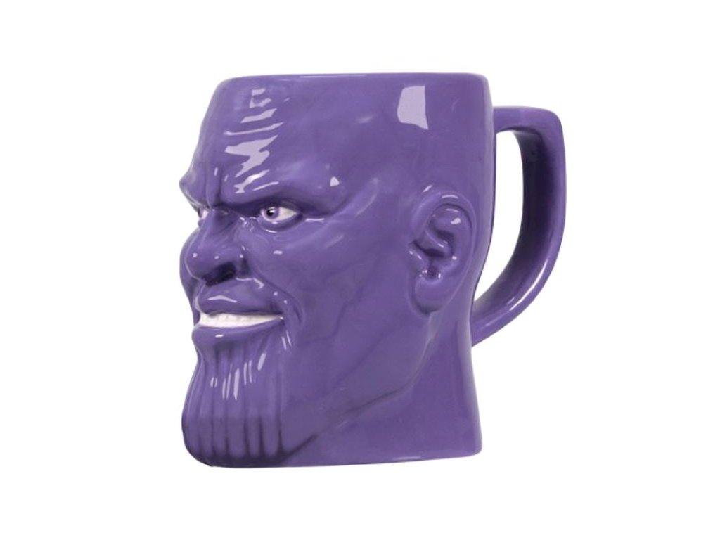 Keramický hrnek Marvel|Avengers: Thanos (objem 500 ml) fialový