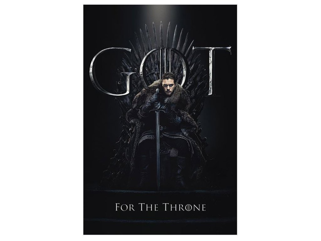 Plakát Game of Thrones|Hra o Trůny: Jon For The Throne (61 x 91,5 cm)