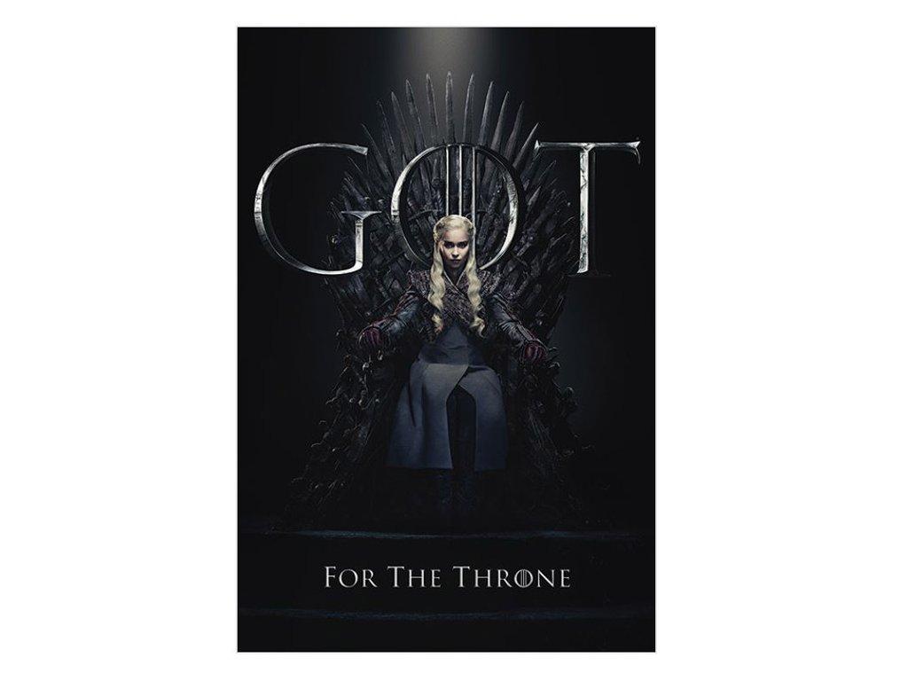 Plakát Game of Thrones|Hra o Trůny: Daenerys For The Throne (61 x 91,5 cm)