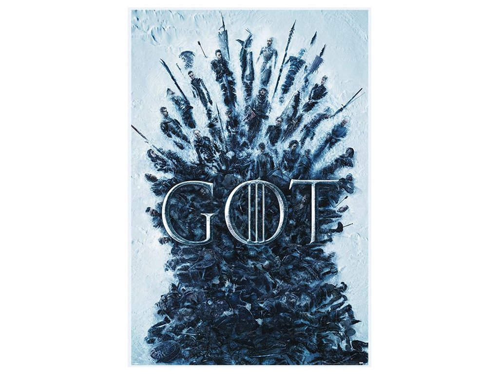 Plakát Game Of Thrones: Thrones Of The Dead (61 x 91,5)
