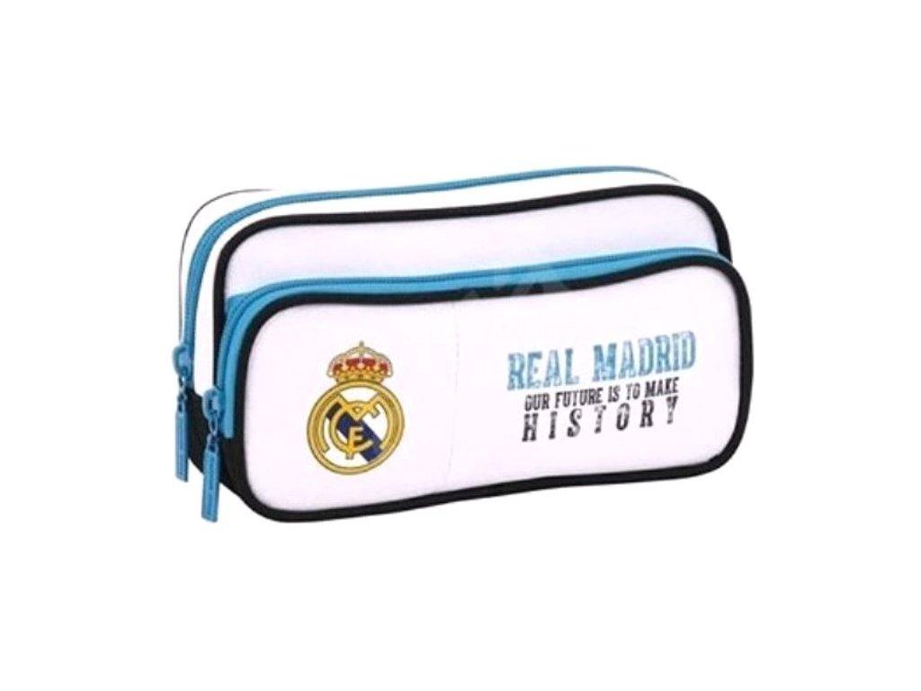 Penál na tužky FC Real Madrid: 11754 (21 x 11 x 6 cm) polyester