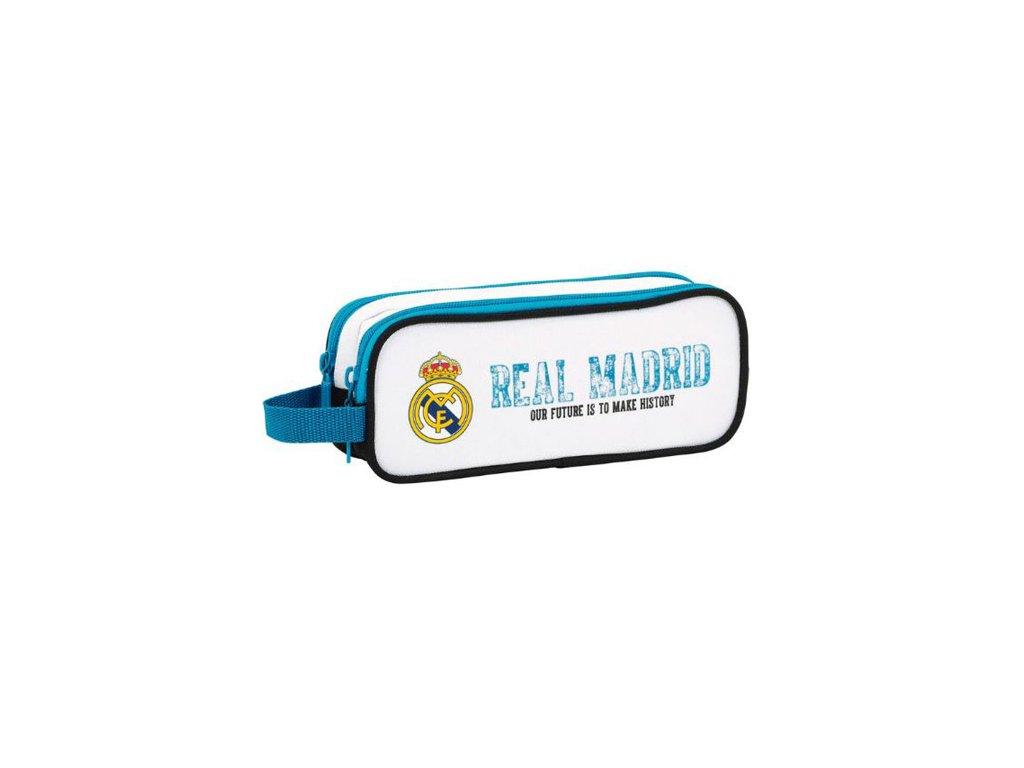 Dvoudílný penál na tužky FC Real Madrid: 11754 (21 x 8 x 6 cm)