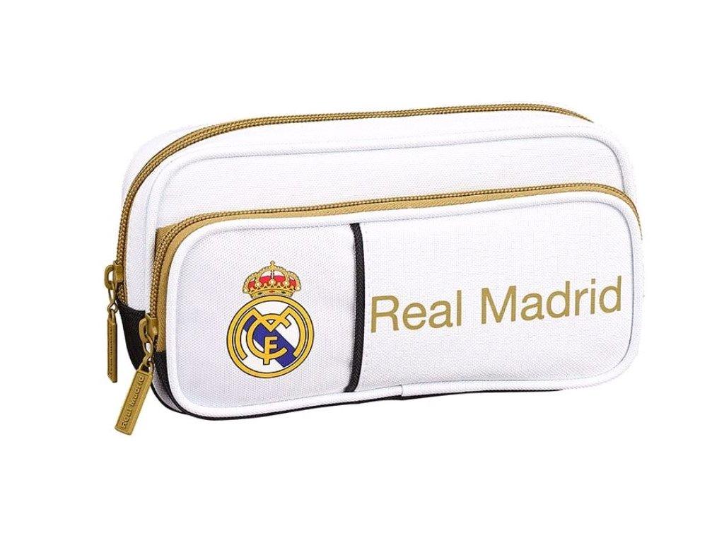Penál na tužky FC Real Madrid: 11954 (objem 1,3 litrů|10,5 x 21 x 6 cm) polyester