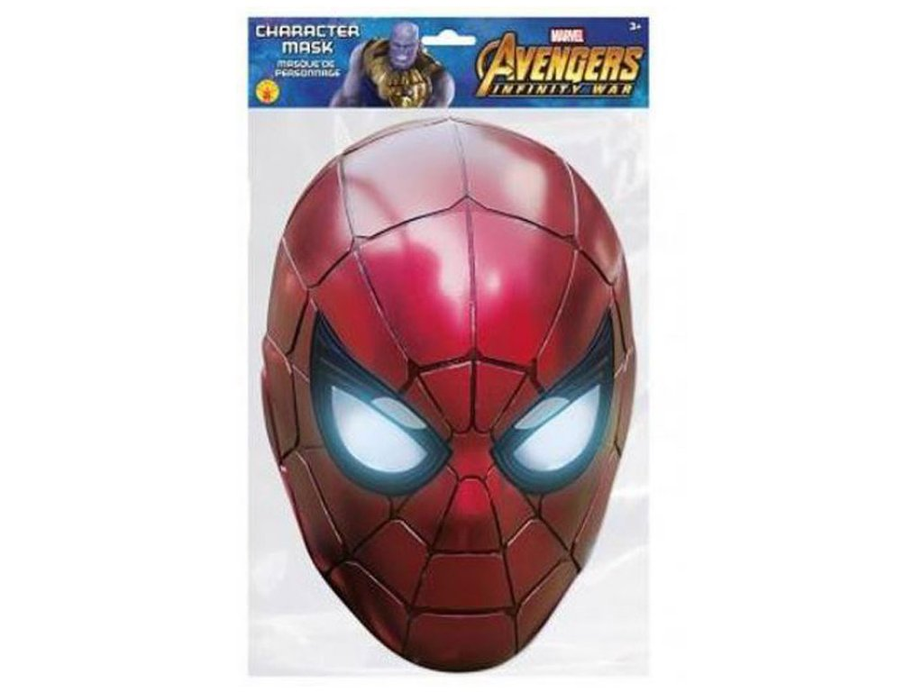 Papírová maska na tvář Marvel: Spiderman (20 x 30 cm) papír