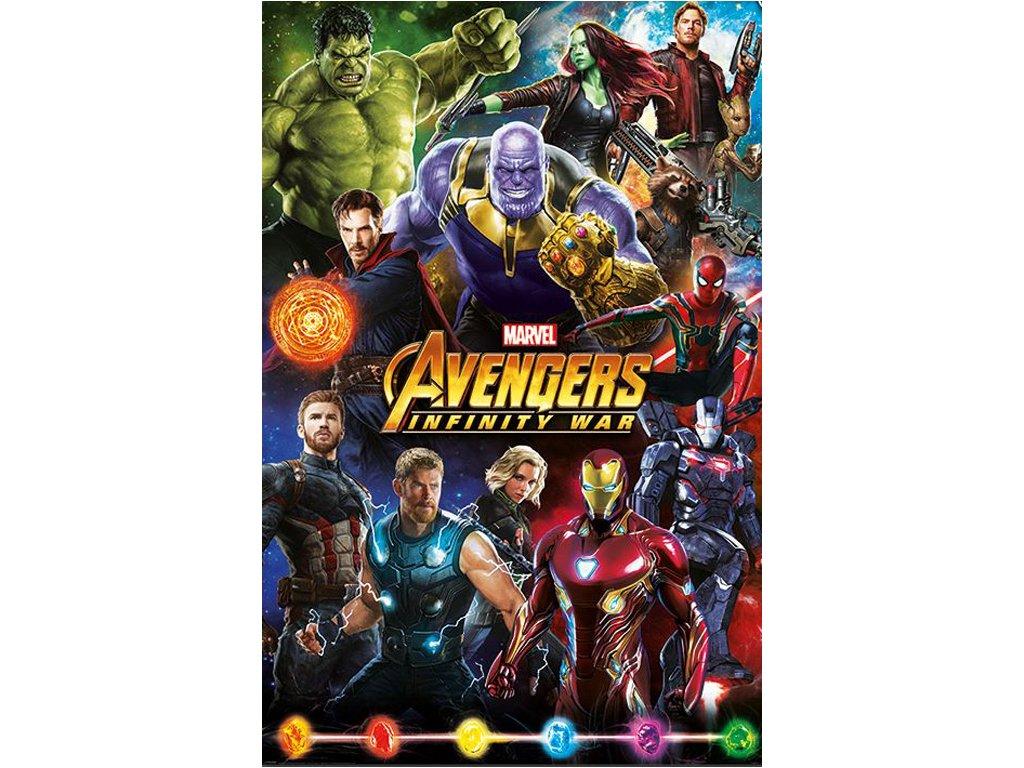 Plakát Avengers Infinity War: Characters (61 x 91,5 cm)
