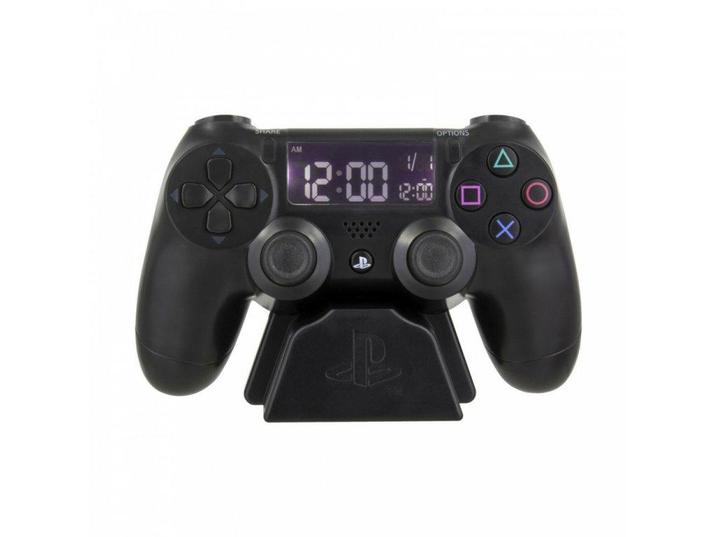 Digitální plastový budík Playstation: Controller (16 x 9 x 9 cm)