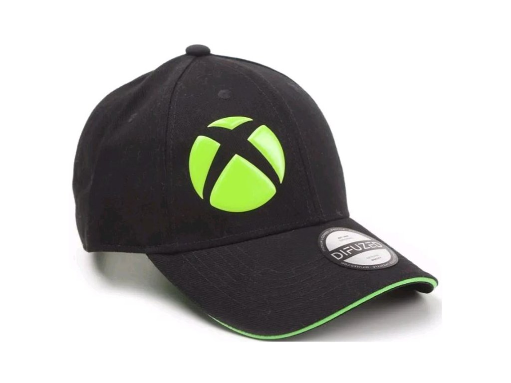 Kšiltovka Xbox: Logo (nastavitelná) černá