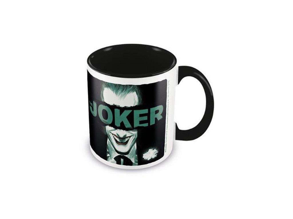 Keramický hrnek DC Comics|Joker: Put On A Happy Face (objem 315 ml) černý
