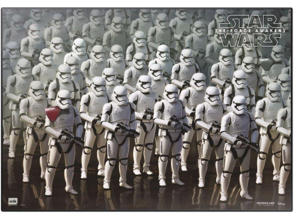 Podložka na stůl Star Wars Hvězdné Války: Stormtroopers (49,5 x 34,5 cm)