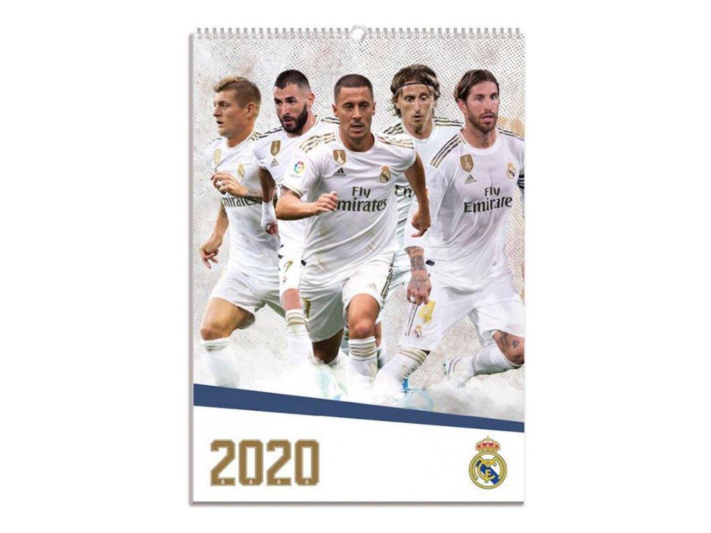 Oficiální kalendář 2020: FC Real Madrid (A3 29,7 x 42 cm)