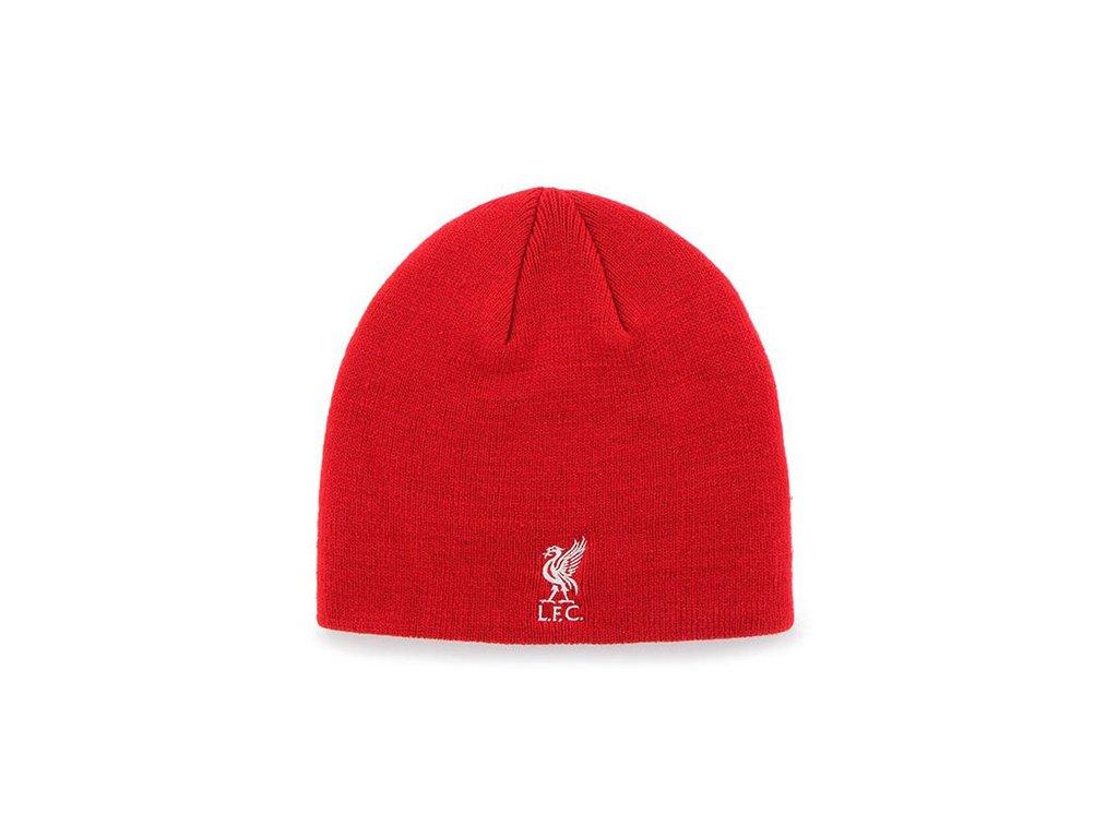 Jednoduchá zimní úpletová čepice FC Liverpool: RD (univresální)
