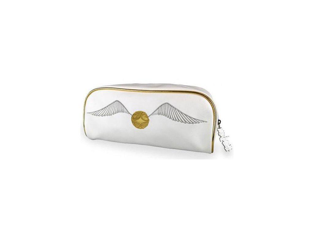 Dámská kosmetická taška Harry Potter: Zlatonka - Golden Snitch (28 x 12 x 12 cm)