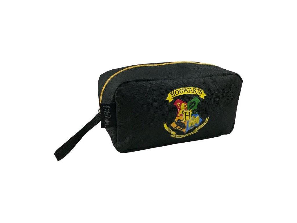 Kosmetická taška Harry Potter: Golden Snitch (28 x 12 x 12 cm) černá
