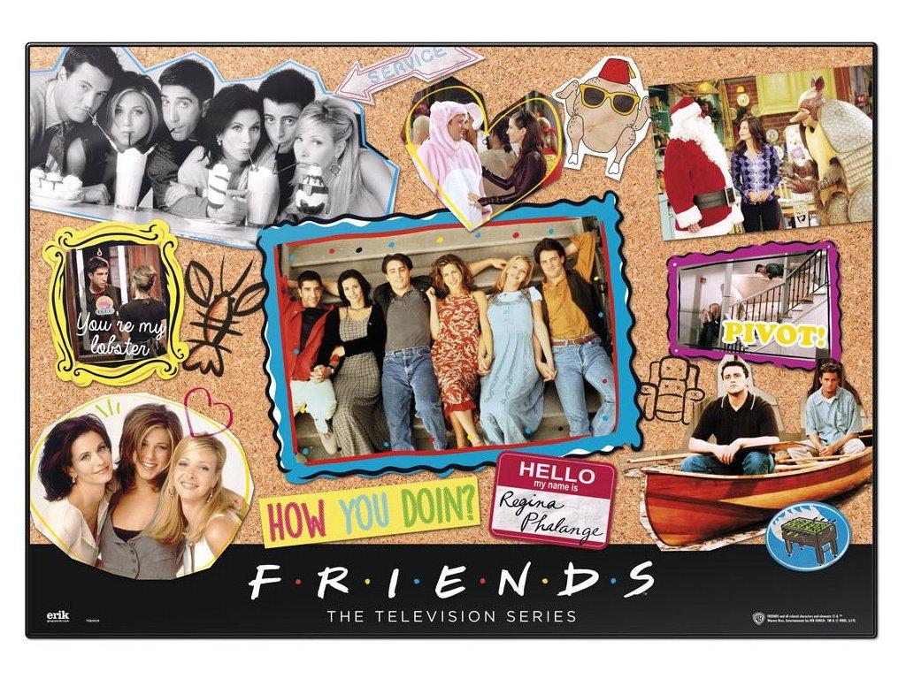Podložka na stůl Friends: Přátelé (49,5 cm x 34,5 cm)