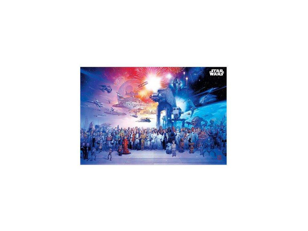 Plakát Star Wars: Universe (61 x 91,5 cm)