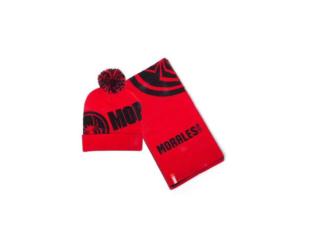 Zimní dárkový set čepice a šála Marvel: Spiderman (universální)