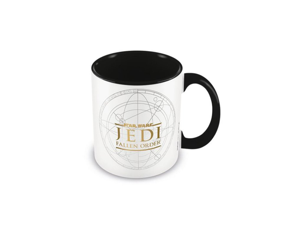 Černý keramický hrnek Star Wars Hvězdné války: Jedi Fallen Order (objem 315 ml)