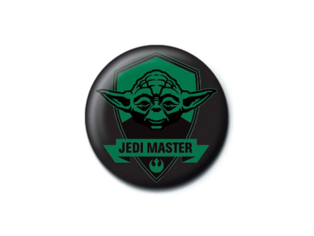 Placka Star Wars|Hvězdné Války: Jedi Master (průměr 25 mm)