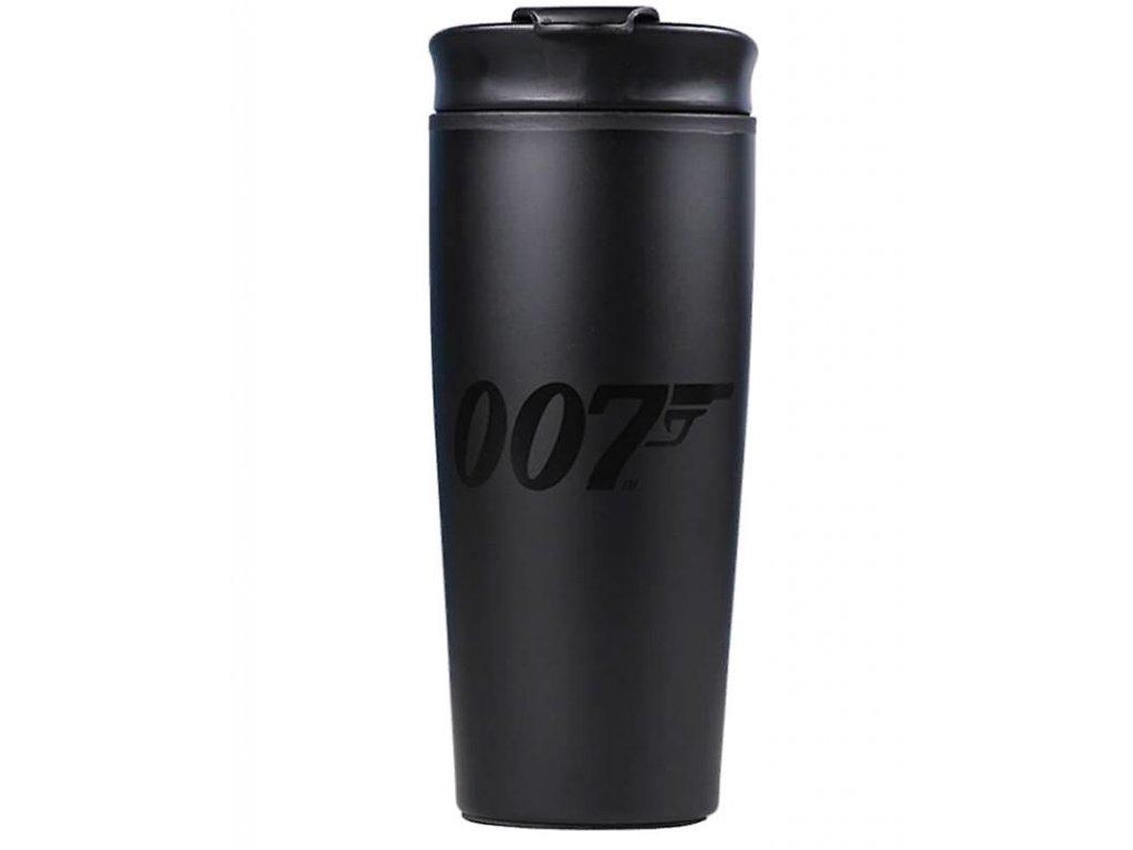Cestovní hrnek James Bond 007: Logo 007 (objem 425 ml)