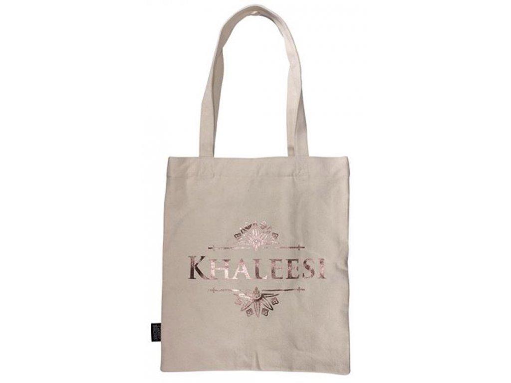 Shopping taška na rameno Game Of Thrones Hra o trůny: Khaleesi (33 x 67,5 cm)