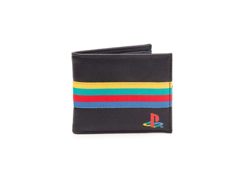 Peněženka Playstation: Logo (16,5 x 10,5 cm) černá