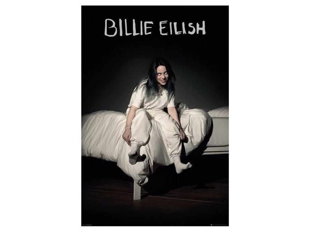 Plakát Billie Eilish: Bed (61 x 91,5 cm)