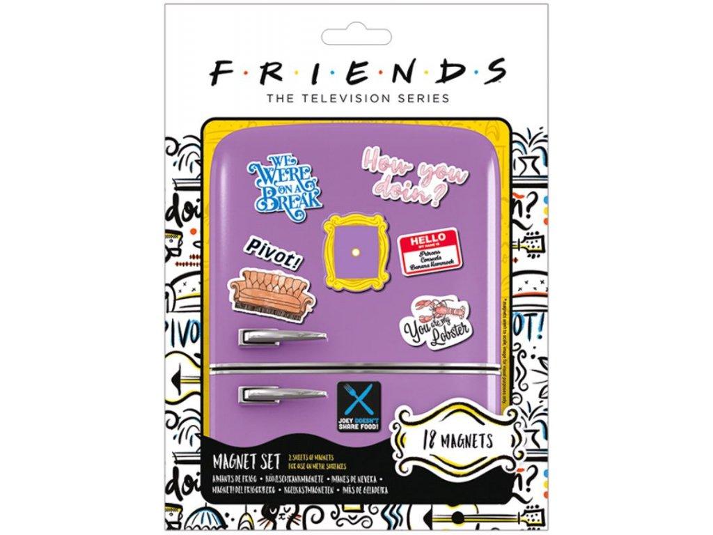 Magnety Friends: How You Doin' set 18 kusů (balení 18 x 24 cm)