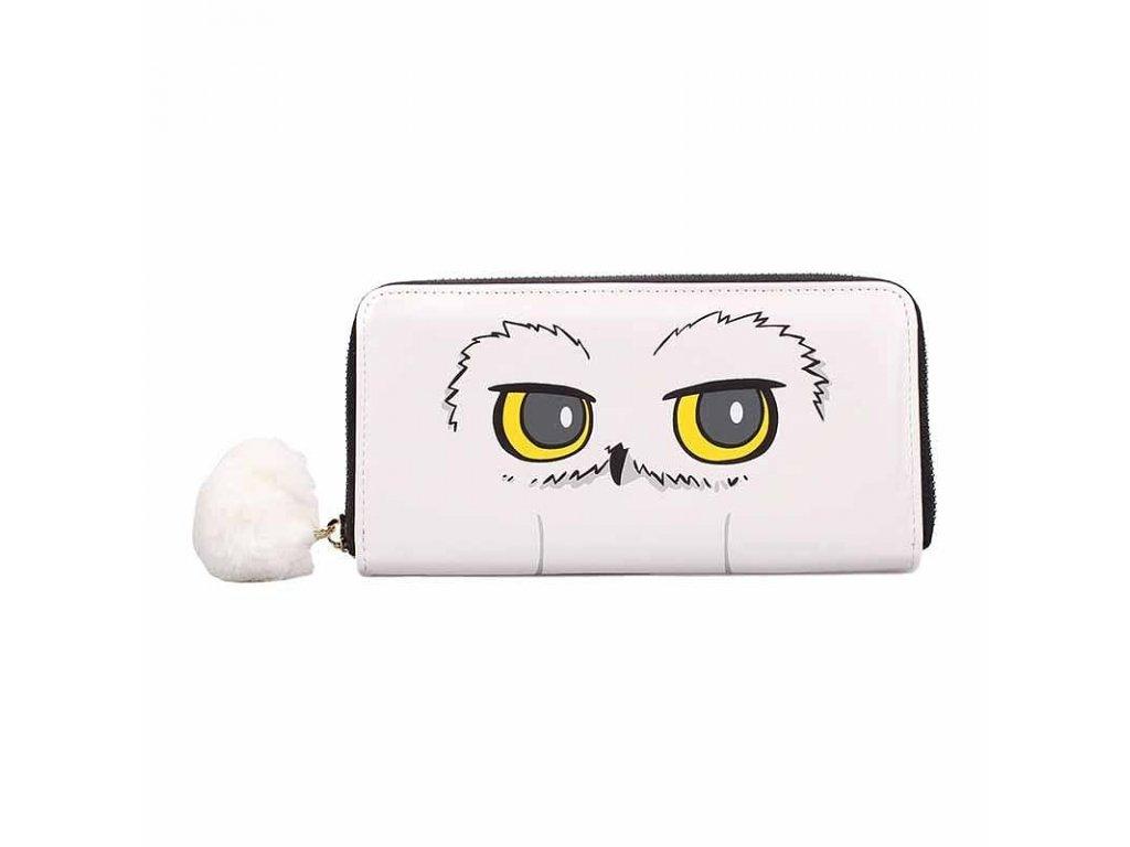 Dámská peněženka psaníčko Harry Potter: Hedwig (20 x 10,5 x 2,5 cm) polyuretan