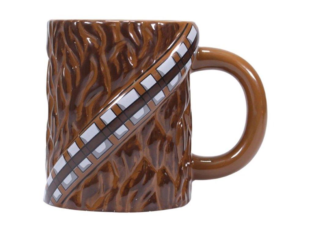 Keramický hrnek Star Wars|Hvězdné války: Chewbacca () hnědý